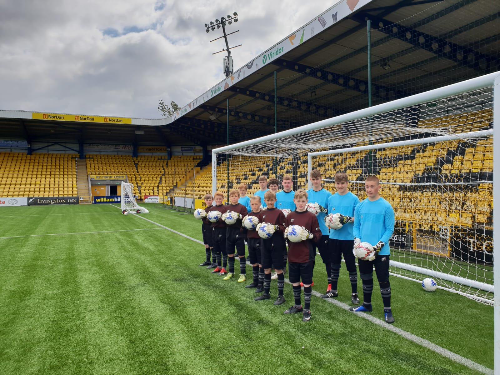 Edinburgh Residential Goalkeeper Camp 2019